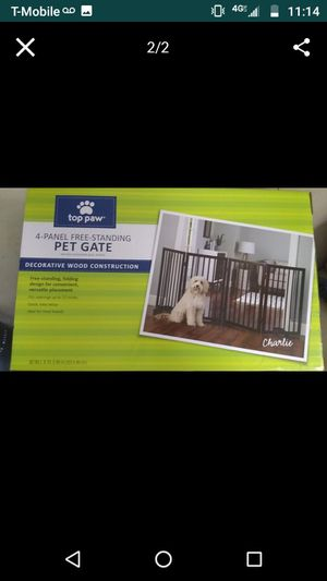 Dog gate for Sale in Hillsboro, OR
