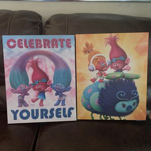Trolls canvases for Sale in Palm Springs, FL