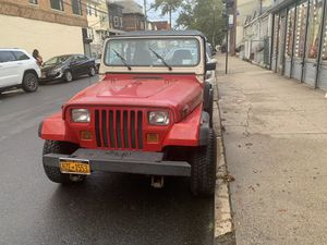 Jeep Wrangler 1993 , stick for Sale in Queens, NY