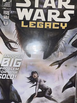 Star Wars Legacy Vol.2 #14 Dark Horse Comics Another Big Problem For Ania Solo for Sale in Waco,  TX