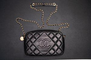 CHANEL Black Lambskin Crossbody Bag for Sale in Gilbert, AZ