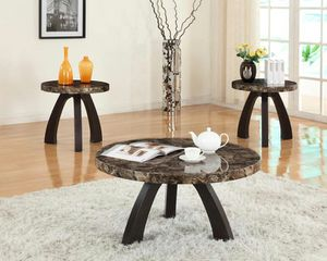New Mallow 3-Piece Faux Marble Top Coffee Table Set | 3386 for Sale in LUTHVLE TIMON, MD