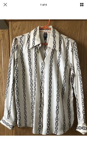 Tommy Hilfiger Womens Size 14 Silk With Chains Button Down for Sale in Fresno, CA