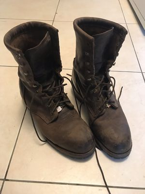 Chippewa logger boots for Sale in Penndel, PA