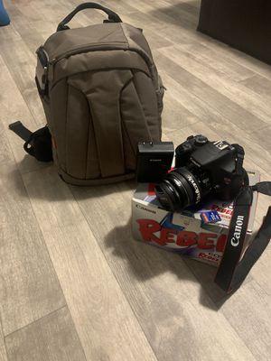 Complete Canon T5 Kit w/ Camera Bag & Memory Card! for Sale in Marietta, GA