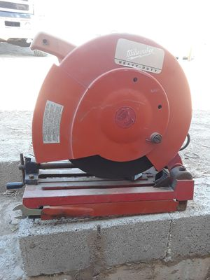 "milwaukee chop saw 14"" for Sale in Las Vegas, NV"