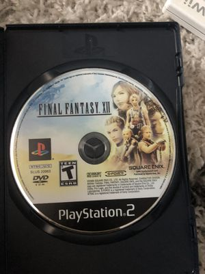 Final fantasy 12 PS2 for Sale in Huntington Beach, CA