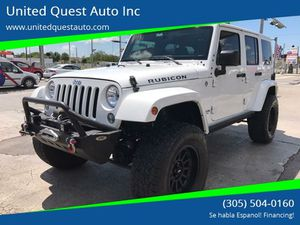 2015 Jeep Wrangler Unlimited for Sale in Hialeah, FL