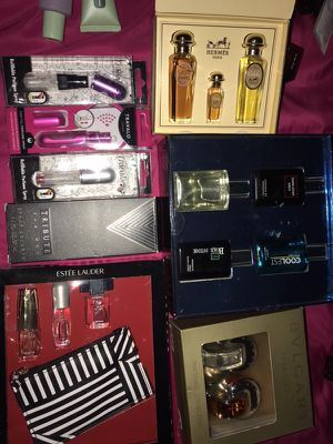 Perfume gift sets & refillable perfume bottles for Sale in Austin, TX