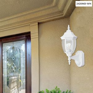 Designers Fountain Tiverton White Outdoor Wall-Mount Lantern Sconce for Sale in Dallas, TX