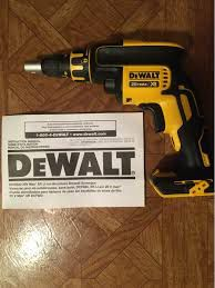 DeWalt. 20V MAX XR Lithium-Ion Brushless Cordless Drywall Screwdriver for Sale in Brooklyn, NY