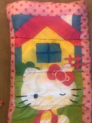 Hello Kitty sleeping bag (thick) for Sale in Mount Dora, FL