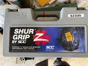 Snow/ice tire cables for Sale in Clarksville, TN