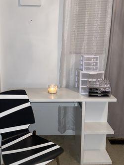 IKEA Desk, Chair And Free Organizers for Sale in Shoreline,  WA