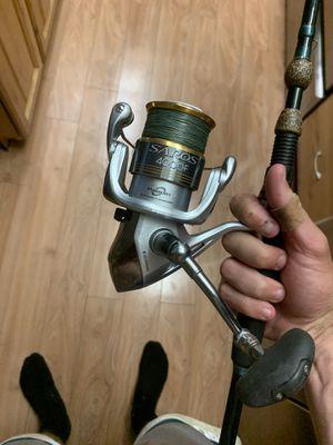 Shimano saros and Blair Wiggins fishing rod combo for Sale in Dunedin, FL
