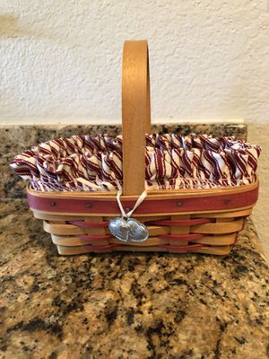 Longaberger Sweet treats combo with tie on for Sale in Moreno Valley, CA