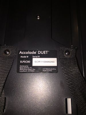 Epson Duet Portable Projection Screen for Sale in Seattle, WA