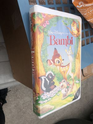 Bambi vhs for Sale in Houston, TX