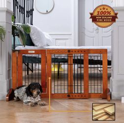 Dog Gate Free Standing (brand New ) for Sale in Bakersfield,  CA