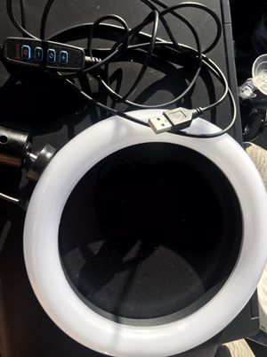 "8"" ring light Led Lamp Ringlight for Recording for Sale in Columbus, OH"