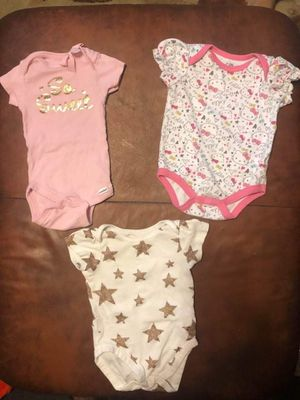 Cute onesies 3-6months for Sale in Baltimore, MD