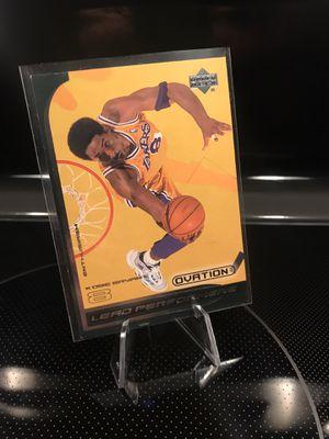 **1999 Upper Deck Kobe Bryant Card**Lakers Jersey 8 Black Mamba Collectible Memorabilia**MINT**$21 OBO for Sale in Carlsbad, CA