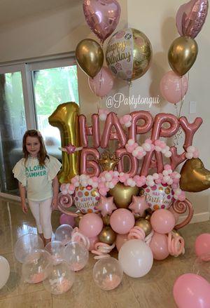 Birthday Girl Balloon Bouquet 💕 Globos para Cumpleaños for Sale in Miramar, FL