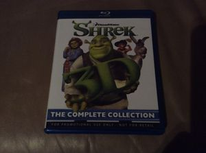 Shrek 3D/2D Blu Ray Shrek 1 2 3 for Sale in Allen, TX