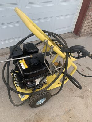 9 HP Pressure Washer only used once Please read notes for Sale in Las Vegas, NV