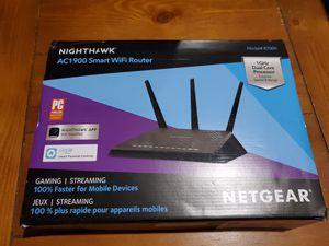 NETGEAR Nighthawk Smart WiFi Router (R7000) - AC1900 for Sale in Spring, TX