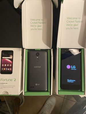 Lg fortune 2 for cricket wireless for Sale in Poinciana, FL