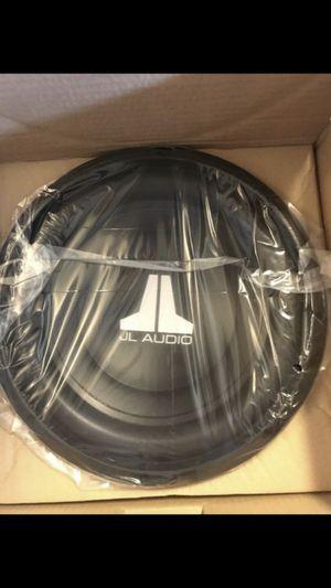 JL Audio 12 inch Subwoofer 12w0v3 300 watts rms for Sale in Chino Hills, CA
