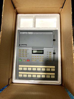 Alesis HR-16 High Sample Rate 16-Bit Drum Machine, with original power supply and original box for Sale in Alexandria, VA