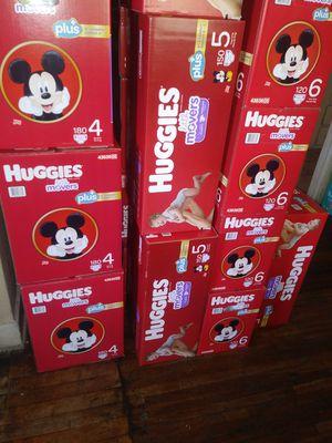 Huggies litllemovers sizes 1 2 3 4 5 6. $ 49 por caja oh cambio por enfamil 12 0z for Sale in Los Angeles, CA