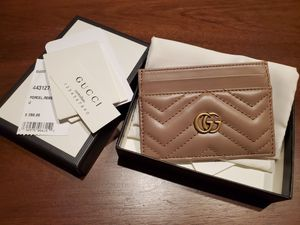 Gucci GG Marmont Nude Dusty Pink Card Case Wallet for Sale in Irvine, CA