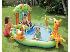 Intex jungle play center pool for Sale in Springfield, VA