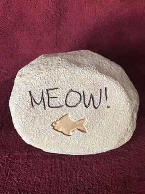 Cat message stone for Sale in Bolingbrook, IL