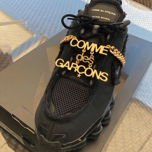 Nike Shox Tl Comme Des Garcons Shoes Black Designer for Sale in Los Angeles, CA
