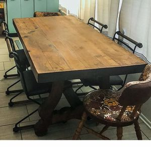 Farmhouse Solid Wood Kitchen Outdoor Table Dining for Sale in Carlsbad, CA