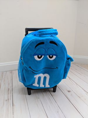 m&m's toddler rolling backpack for Sale in Olney, MD