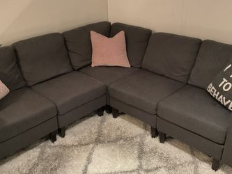 "Wayfair 86"" Symmetrical Sectional Couch for Sale in New York,  NY"