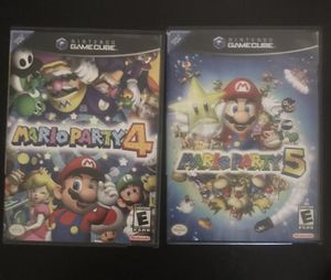 3 Mario Party Game Bundle 2 GameCube Games & 1 Wii Game for Sale in Yardley, PA