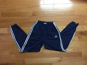 Adidas Windbreaker Jogger Track Pants Navy Blue S for Sale in Boston, MA