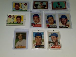 1950s baseball cards for Sale in Miami, FL