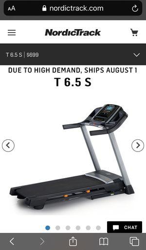 Brand New NordicTrack 6.5 S Incline Treadmill for Sale in Odessa, FL