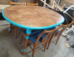 Refinished Kitchen Table & 4 Matching Chairs for Sale in Buckeye Lake, OH
