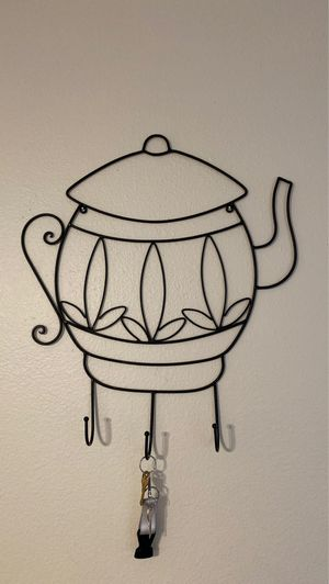 tea pot key holder for Sale in Aloha, OR