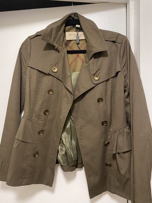 Burberry Brit Trench Jacket for Sale in Chicago, IL