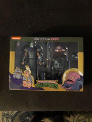 NECA TMNT 2 pack Shredder and Krang for Sale in Mesa, AZ