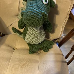 Hand Crochet Baby Dragon for Sale in Mechanicsville, MD